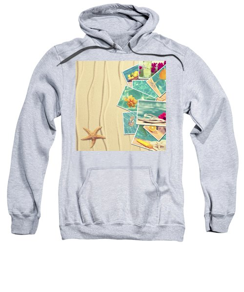 Vacation Postcards Sweatshirt