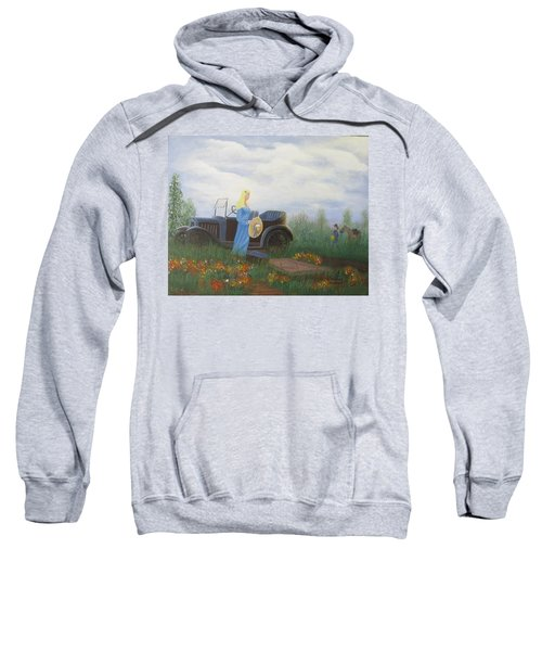 Waiting For A Picnic Sweatshirt