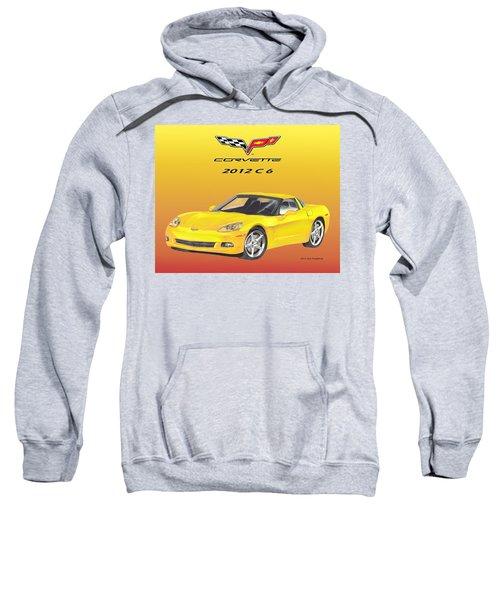 2012 C 6 Corvette Sweatshirt