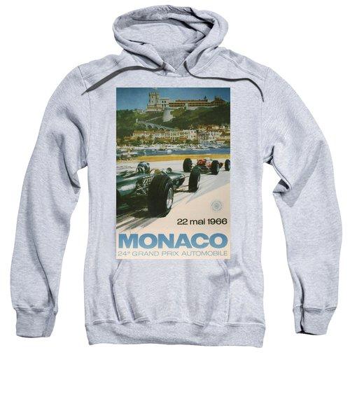 24th Monaco Grand Prix 1966 Sweatshirt