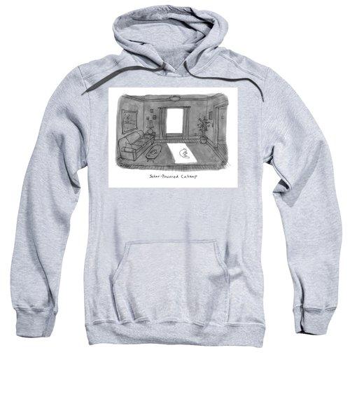 Solar Powered Catnap Sweatshirt