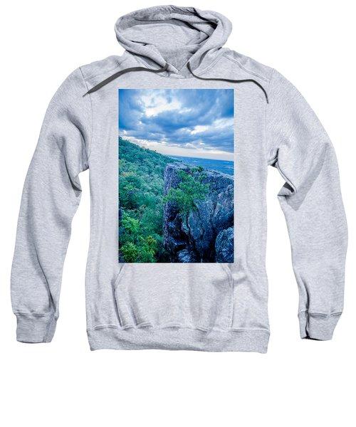 Beautiful Aerial Landscape Views From Crowders Mountain Near Gas Sweatshirt