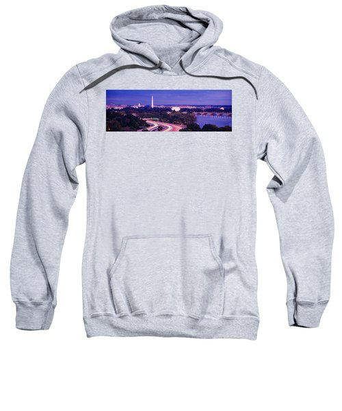 High Angle View Of A Cityscape Sweatshirt