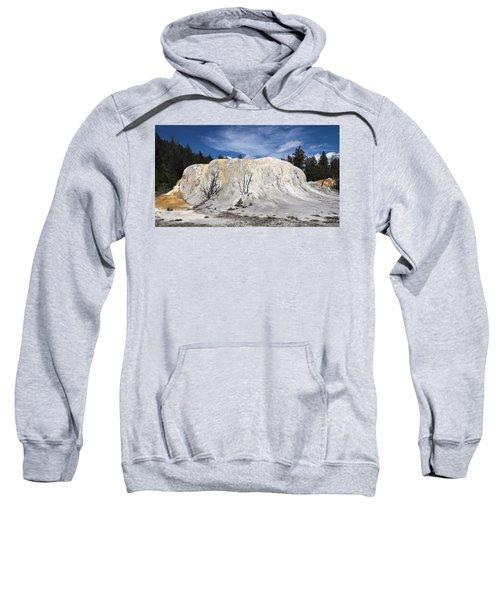 Orange Spring Mound Mammoth Hot Springs Yellowstone National Park Sweatshirt