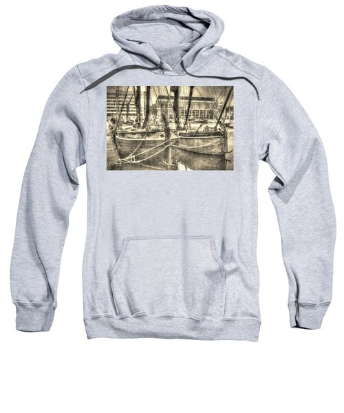River Thames Sailing Barges Sweatshirt