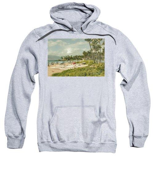 Wailea Beach Maui Hawaii Sweatshirt