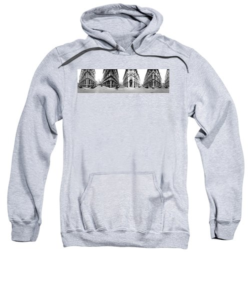 360 Degree View Of A City, Montreal Sweatshirt