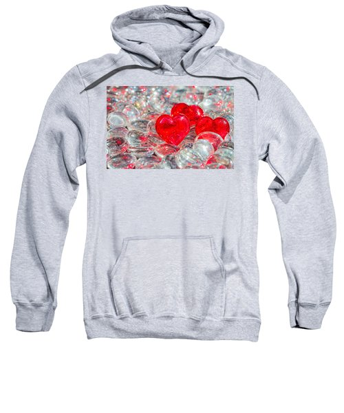 Crystal Heart Sweatshirt
