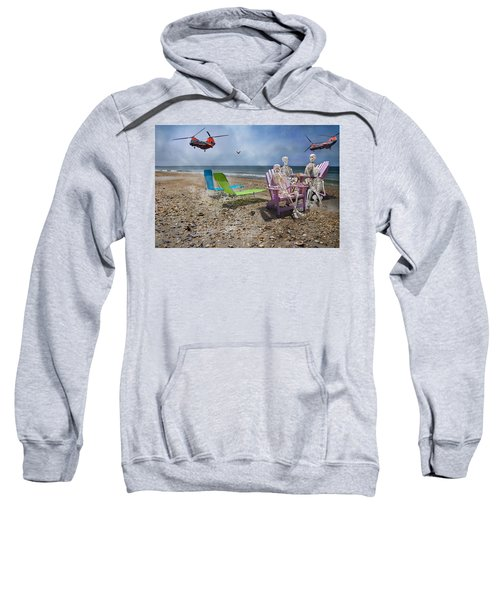 Search Party Sweatshirt by Betsy Knapp