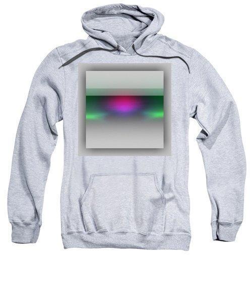 Sweatshirt featuring the digital art Diving Colors by Mihaela Stancu