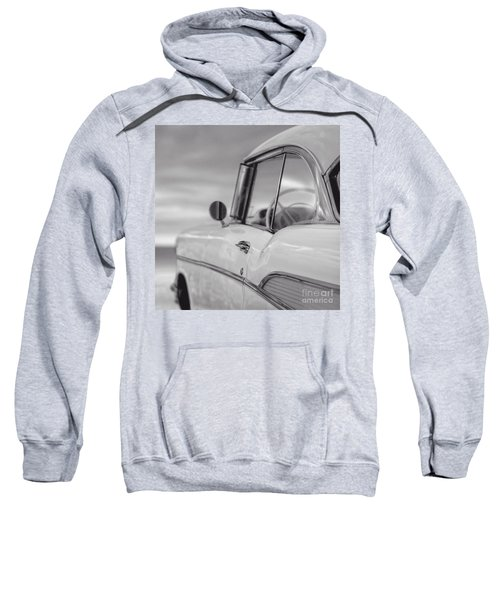 57 Chevy Belair At The Beach Sweatshirt