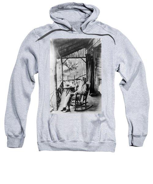 John Burroughs (1837-1921) Sweatshirt