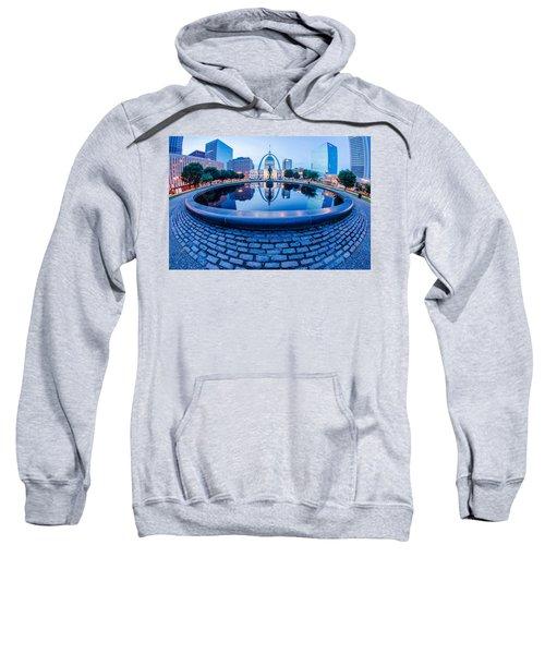 St. Louis Downtown Skyline Buildings At Night Sweatshirt