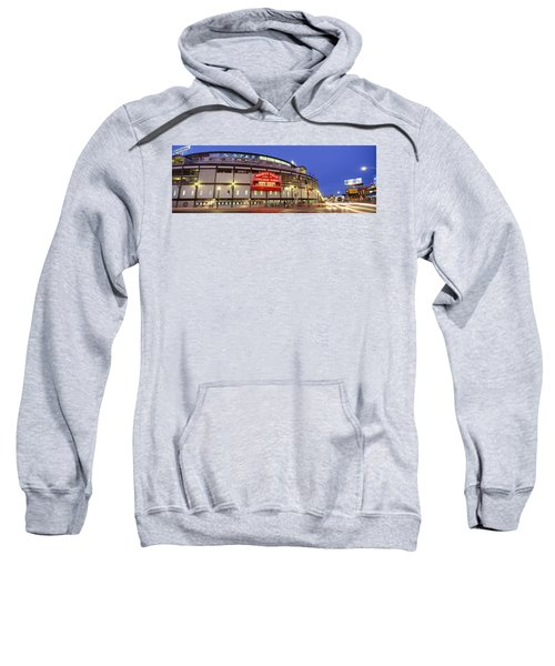 Usa, Illinois, Chicago, Cubs, Baseball Sweatshirt by Panoramic Images