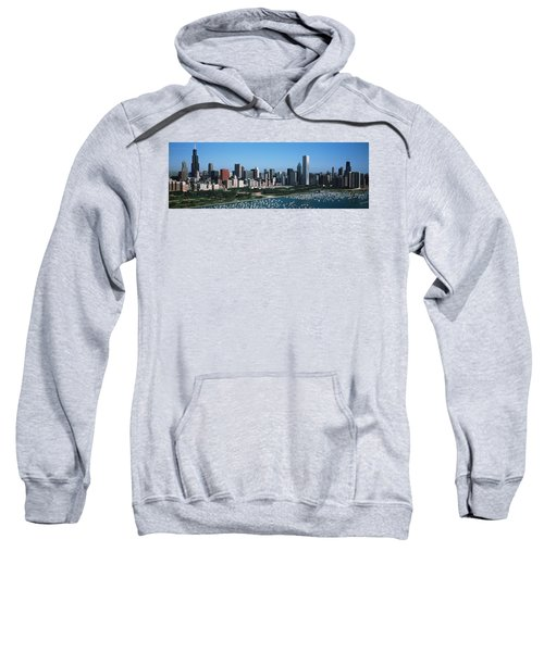 Aerial View Of Buildings In A City Sweatshirt