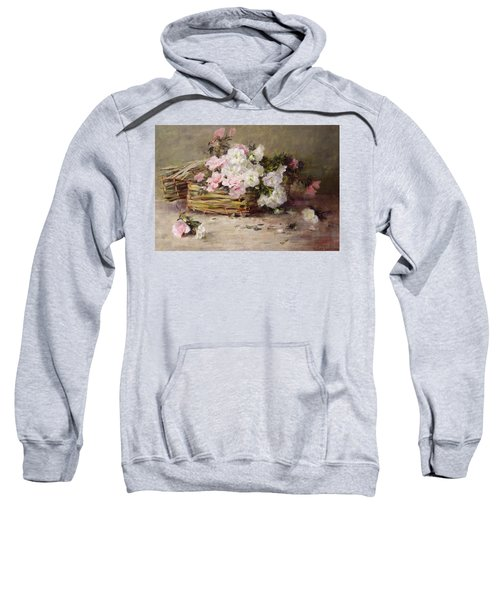 A Basket Of Flowers Sweatshirt