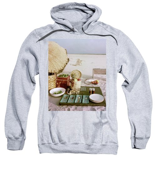 A Beach Picnic Sweatshirt