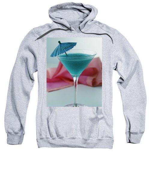 A Blue Hawaiian Cocktail Sweatshirt
