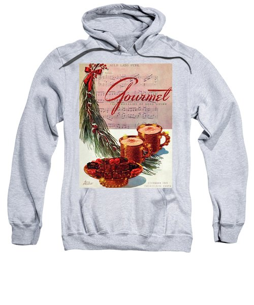 A Christmas Gourmet Cover Sweatshirt
