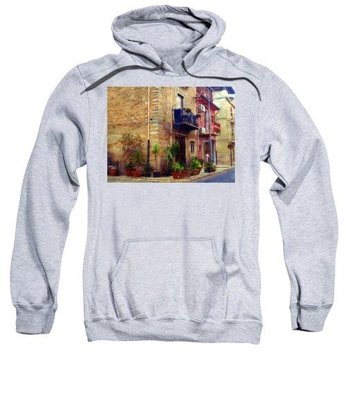 A Corner In Sicily Sweatshirt