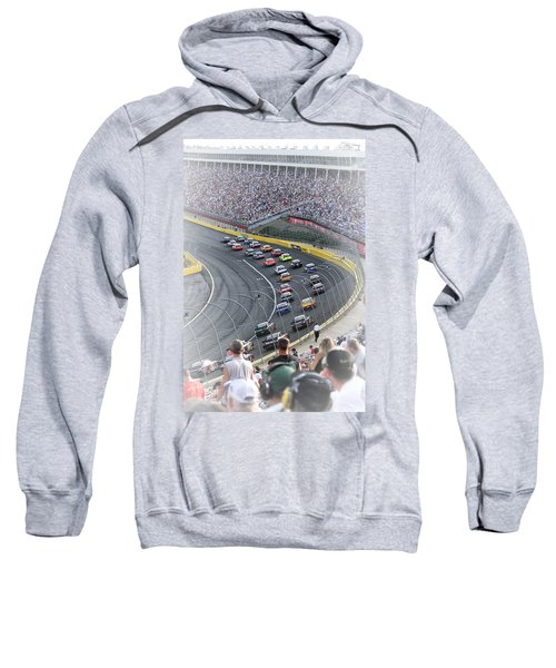 A Day At The Racetrack Sweatshirt