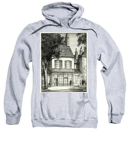 A Facade Of A Store Sweatshirt