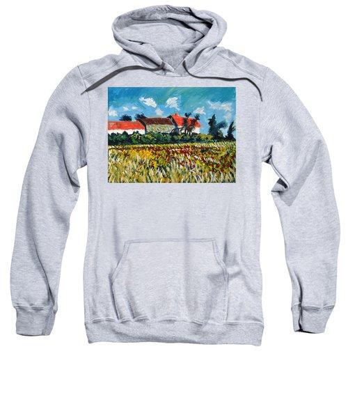 A Field In France Sweatshirt