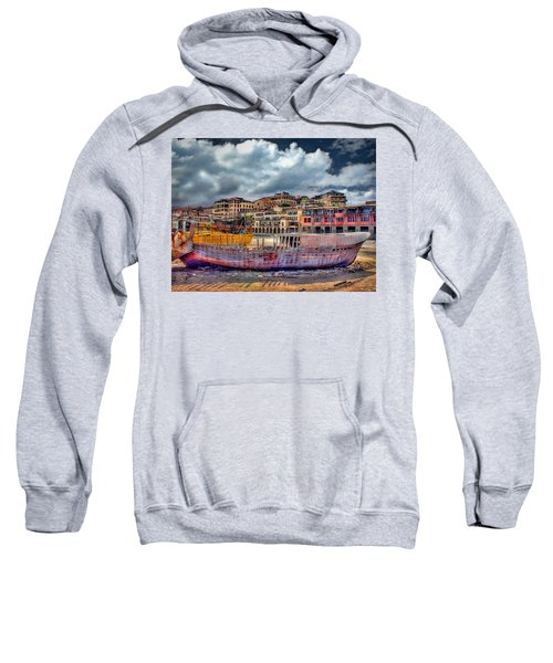 A Genesis Sunrise Over The Old City Sweatshirt