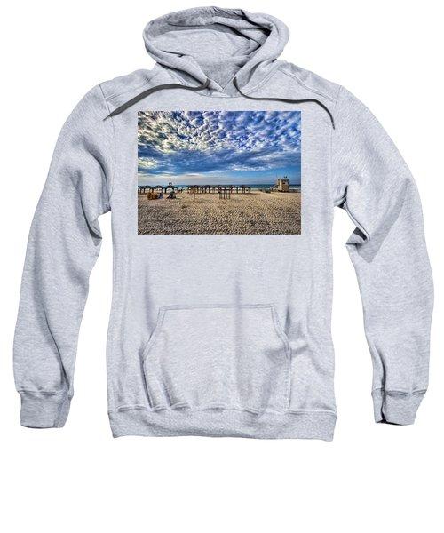a good morning from Jerusalem beach  Sweatshirt