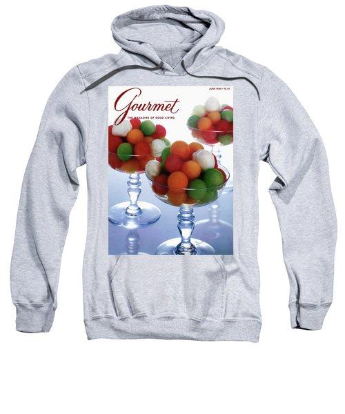A Gourmet Cover Of Melon Balls Sweatshirt