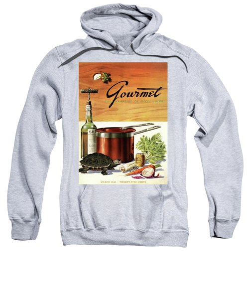 A Gourmet Cover Of Turtle Soup Ingredients Sweatshirt