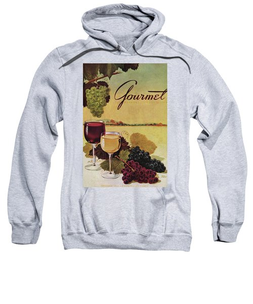 A Gourmet Cover Of Wine Sweatshirt