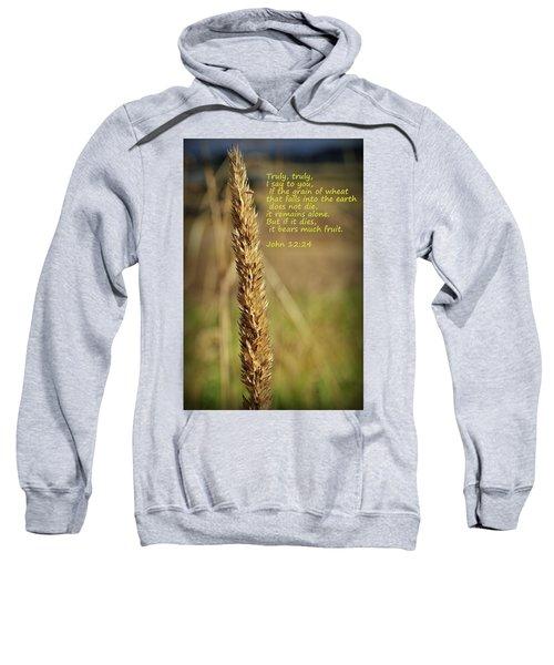 A Grain Of Wheat Sweatshirt