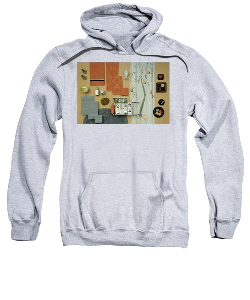 A Group Of Household Objects Sweatshirt