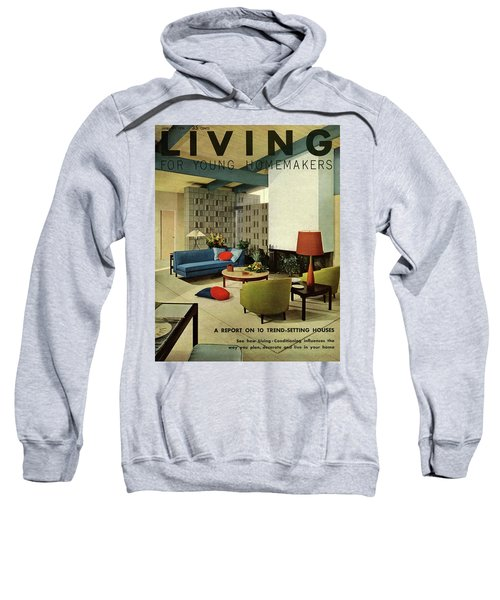 A Living Room With Carpeting By Callaway Sweatshirt