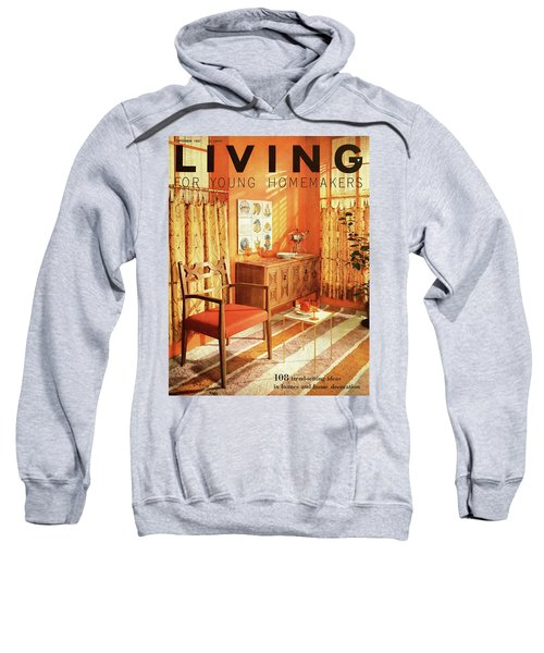 A Living Room With Furniture By Mt Airy Chair Sweatshirt