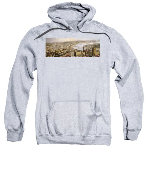 A Panoramic View Of London Sweatshirt