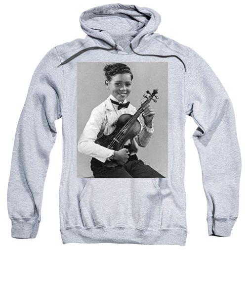 A Proud And Elegant Violinist Sweatshirt