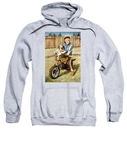 A Ride In The Backyard Sweatshirt