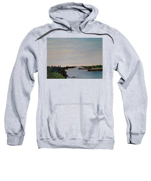 A River Shoreline Sweatshirt
