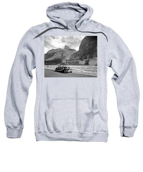 A Roadster In The Rockies Sweatshirt