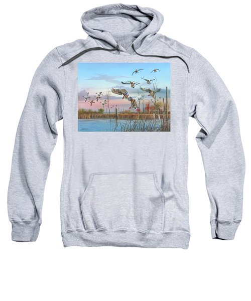 A Safe Return Sweatshirt