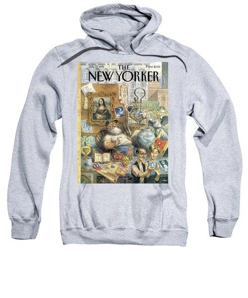 A Shopkeeper Sells Odd Items Sweatshirt