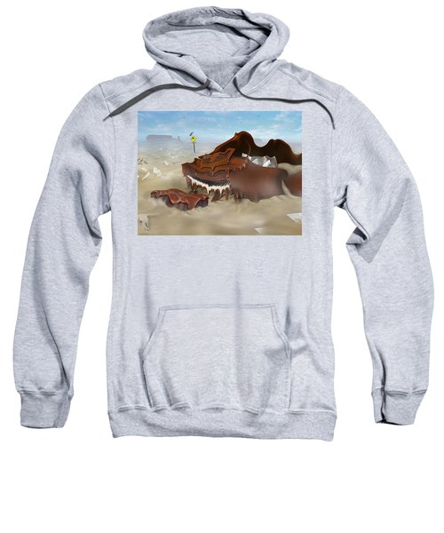 A Slow Death In Piano Valley - Panoramic Sweatshirt
