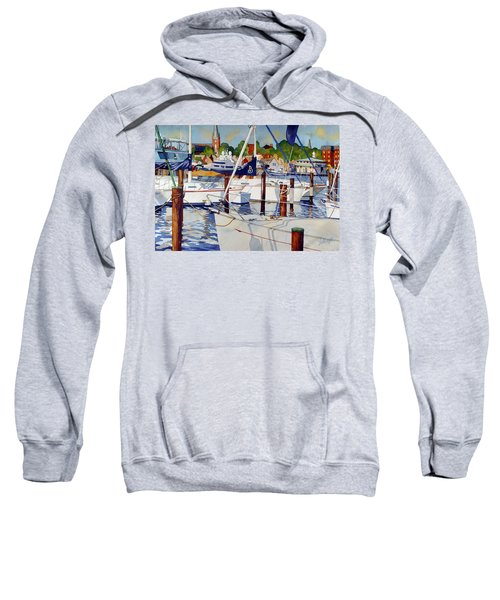 A View From The Pier Sweatshirt
