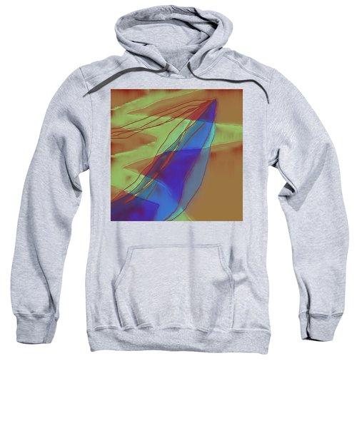 A Well Used Slate Sweatshirt