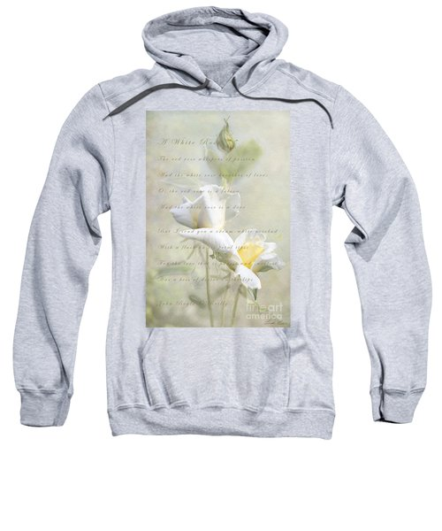 A White Rose Sweatshirt