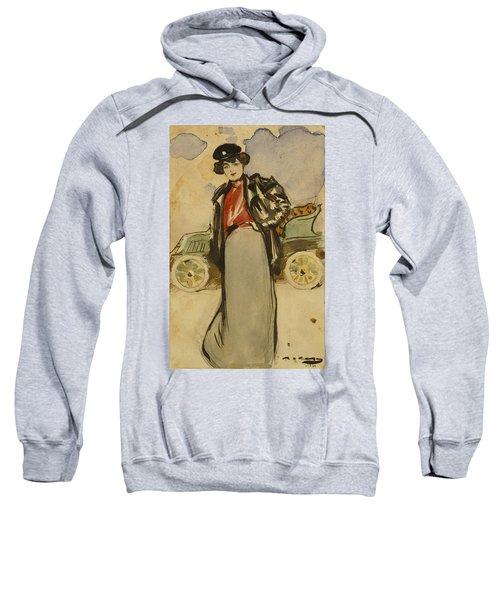 A Woman Driver Sweatshirt
