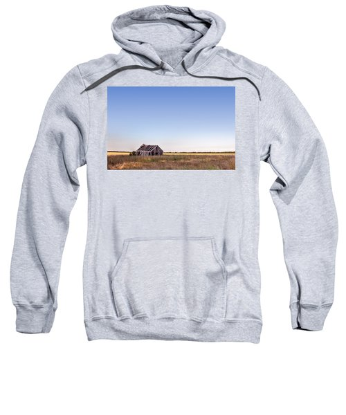 Abandoned Farmhouse In A Field Sweatshirt