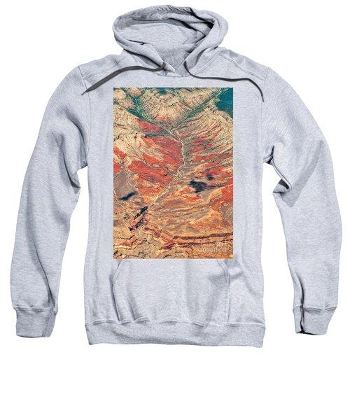 Sweatshirt featuring the digital art Above Timber Line by Mae Wertz